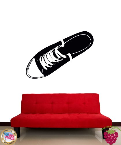 wall-vinyl-sticker-keds-shoe-cool-modern-decor-z1056m
