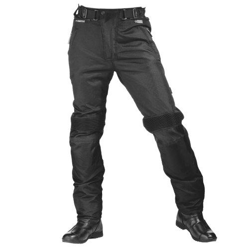 XXL Nero Roleff Racewear 455XXL Pantaloni Moto Tessuto//Taslan