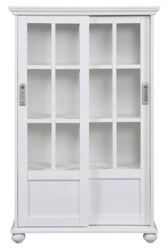 Cheap altra 9448096 bookcase with sliding glass doors for Cheap sliding glass doors