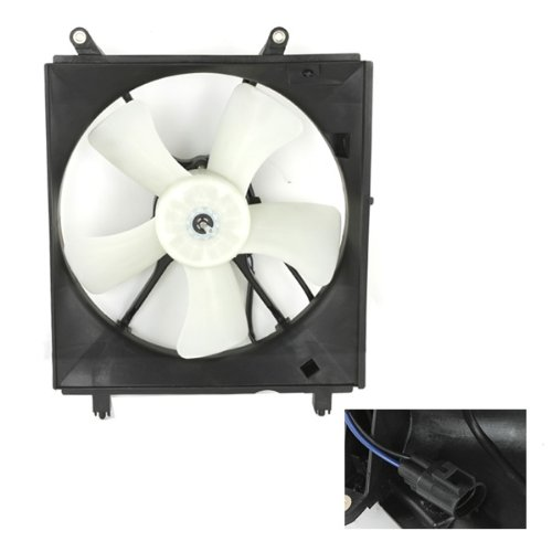 CarPartsDepot 426-44424 New Radiator Fan Motor Shroud Left Replacement TO3115112 new oirginal lenovo thinkpad t420s t420si heatsink cpu cooler cooling fan radiator discrete 04w1713