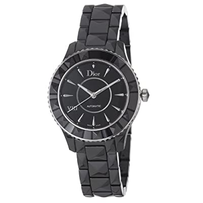 Christian Dior Women's CD1245E0C001 Black VIII Black Dial Automatic Watch