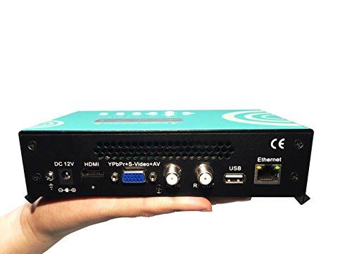 DTVANE MINI H.264 HDMI VGA(YPbPr,AV) RF Mixing input HDMI to ISDB-T Converter HD RF Modulator (Av Rf Modulator compare prices)