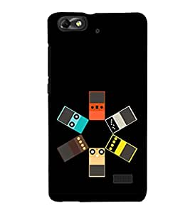 EPICCASE Ipod Circle Mobile Back Case Cover For Huawei Honor 4C (Designer Case)