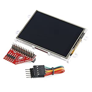 """Raspberry Pi Display Module - 3.2"""" Touchscreen LCD from 4D Systems"""