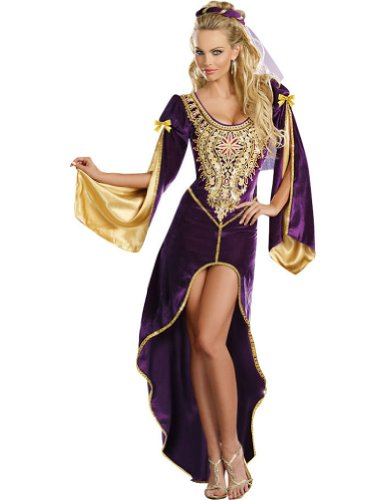 Queen Of Thrones Adult Womens Costume Lg Adult Womens Costume