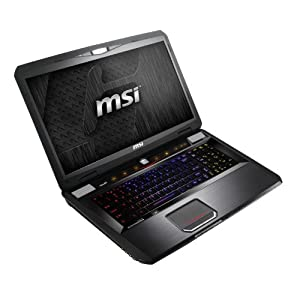MSI Computer Corp. Notebook GT70 0NC-013US;9S7-176212-013 17.3-Inch Laptop