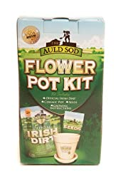 Irish Dirt Flower Pot Kit