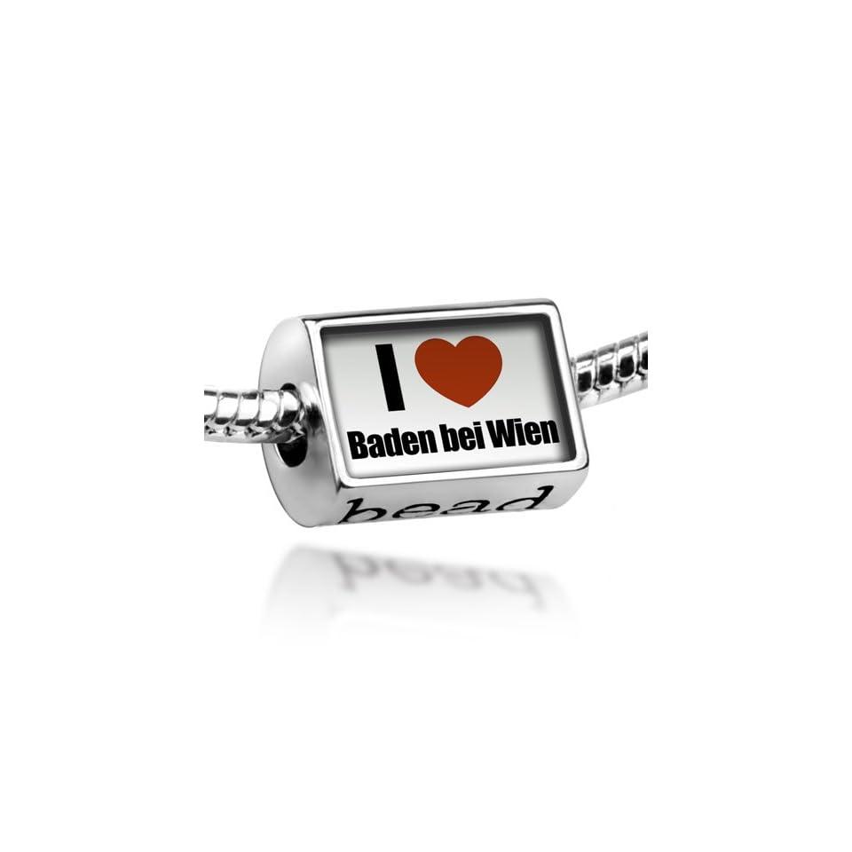789e7527b Beads I Love Baden bei Wien region Lower Austria, Austria Pandora Charm &  Bracelet Compatible