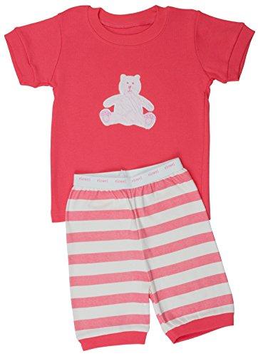 "Elowel Shorts ''Teddy Bear"" 2 Piece Pajama Set 100% Cotton - 18-24 Months front-905088"