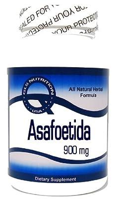 Asafoetida 900mg 180 Capsules ^GLS by GLS