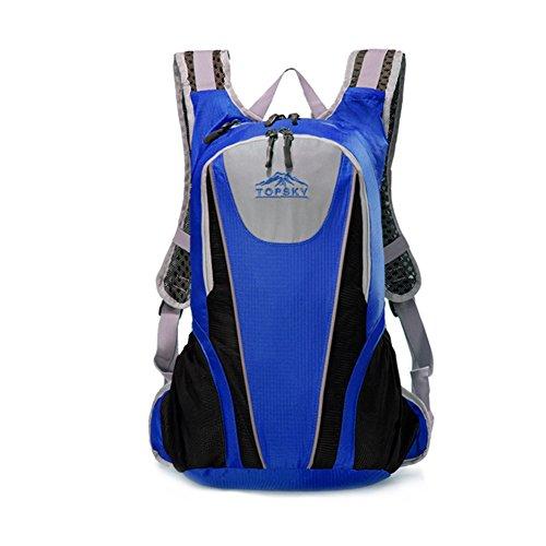 épaules multifonctionnels alpinisme sac / randonnée / Sac à dos en plein air-bleu 25L
