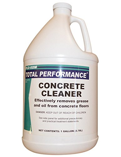 Flo kem 0018 heavy duty concrete floor cleaner 1 gal for Concrete floor cleaning products