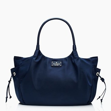 Kate Spade New York Union Square Stevie Baby Shoulder Bag Navy front-134718