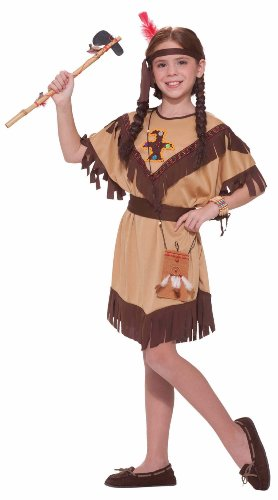 Forum Novelties Native American Princess Costume, Child'S Medium front-12210