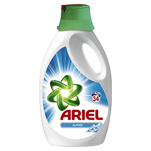 ARIEL-Lessive-Liquide-Alpine-34-Lavages-25-L-Lot-de-2