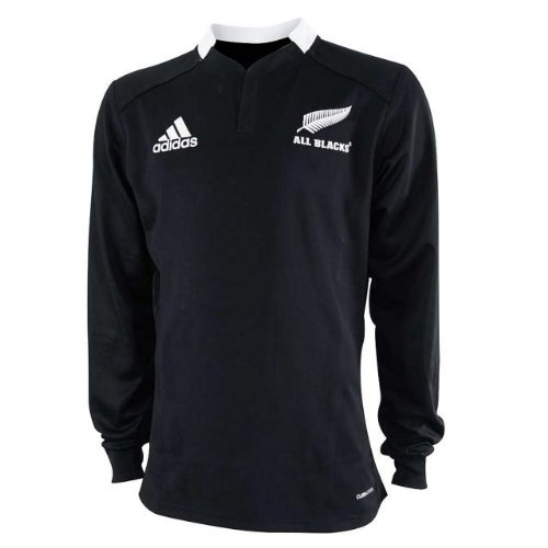 boutique du supporter maillots adidas maillot jersey rugby hommes adidas all blacks ml t l. Black Bedroom Furniture Sets. Home Design Ideas