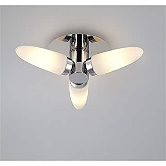 Chrome Wall Sconces Bathroom : Retro White Chrome Vanity Bathroom Wall Sconce 2 Light Mirror Lamp Hallway Lighting - - Amazon.com