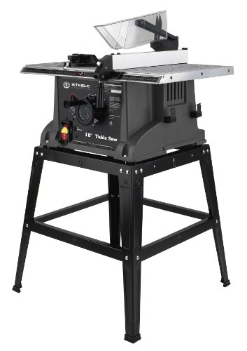 Steele Products Sp Pb101 10 Inch Table Saw With Stand Find Lowest Price Ogapilor