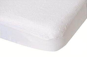 douceur dint/érieur drap housse 2 personnes 160x200 cm lina blanche