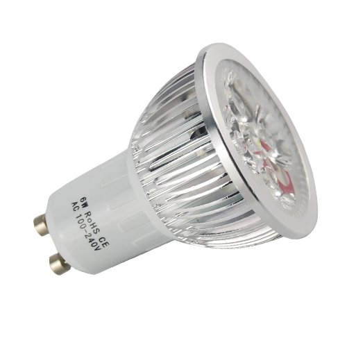 Thg 100-240V Cool Day White Bright Led Lamps Spot Light Gu10 For Home Offices Workplace Indoor Outdoor 6W
