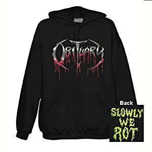 Obituary - Hoodie Slowly We Rot (in L): Amazon.co.uk