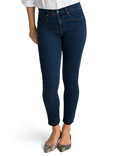 Spanx The Slim-X Tencel Ankle Jeans, SD6615, Midnight Rinse, 31