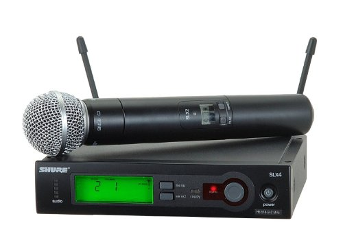 Shure Slx24/Sm58 Handheld Wireless System, L4