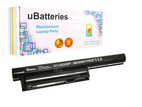 UBatteries Laptop Battery Sony VAIO SVE15123CDW SVE15124CXP SVE15124CXS SVE15124CXW SVE15125CXS SVE15125CXW SVE15126CXP SVE15126CXS SVE15126CXW SVE15127CDS - 10.8V, 5200mAh, Samsung 2.6A Cells - UBMax Series