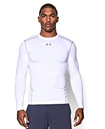 Men\'s Under Armour ColdGear Armour Compression Crew, White (100), Medium