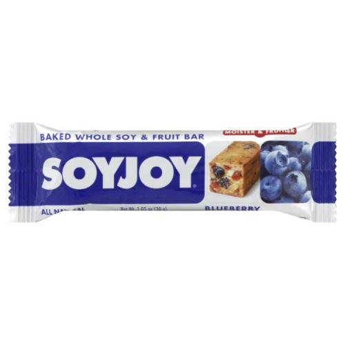 Soyjoy Blueberry Baked Whole Soy and Fruit Bar, 1.05-Ounce (Pack of 12)