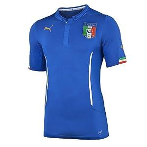 FIGC Italia Home Shirt Replica Team Power Blue 14/16 Italy Puma TG. XS Team Power Blue