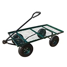 Sandusky Lee FW Steel Crate Wagon, Green