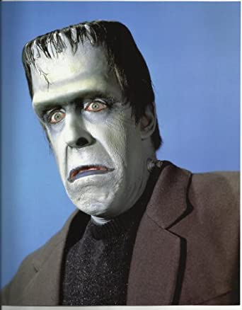 The Munsters Fred Gwynne As Herman Munster Frowning 8x10 Photo at