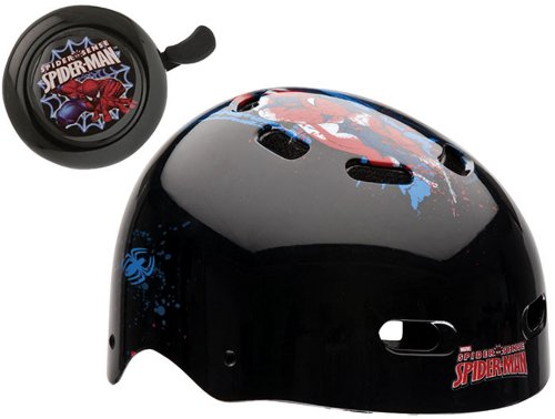 Bell Child Spiderman Spider Tracer Multi-Sport Helmet + Bell