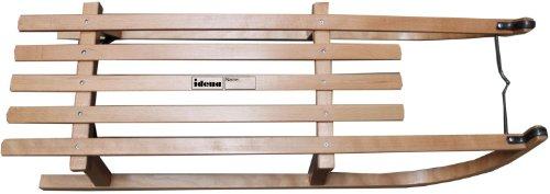 Luge En Bois Davos : solide en bois de h?tre assise avec lattage laqu? naturel