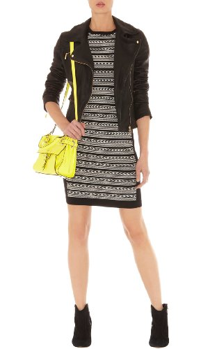Tribal Stripe Knit Dress