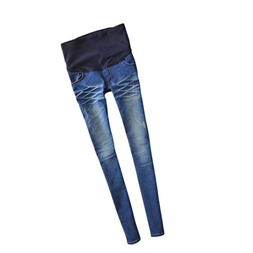 Womens Maternity Nursing Skinny Leggings Jean Tights