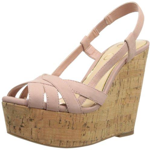 Jessica Simpson Women'S Westt Wedge Sandal,Pink Elko Nubuck,9 M Us