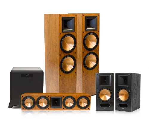 Klipsch Rf-7 Ii Reference Series 5.1 Home Theater System With Sw-450 Subwoofer (Cherry)