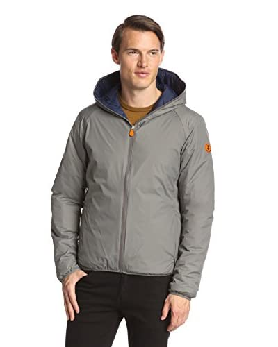 Save the Duck Men's Reversible Hoodie Jacket