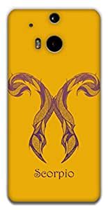 The Racoon Lean Scorpio hard plastic printed back case / cover for HTC One (M8)