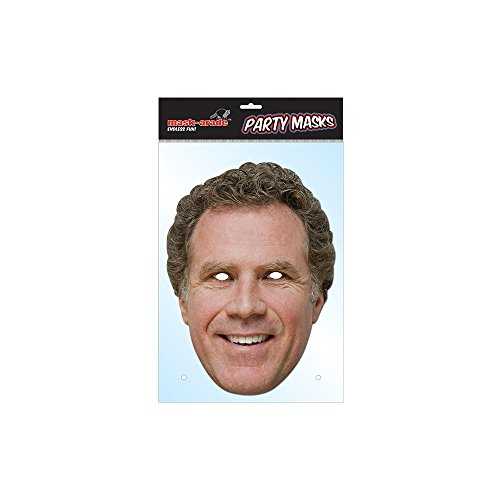 Mask-arade Will Ferrell Celebrity Face Mask - 1