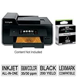 Lexmark Pro915 WiFi All-In-One & Extra Black Ink
