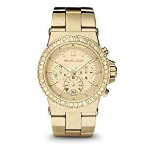michael kors dylan mk5861 gold tone watch watches. Black Bedroom Furniture Sets. Home Design Ideas