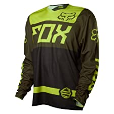 Fox Head Men's Demo Long Sleeve Jersey Fatigue