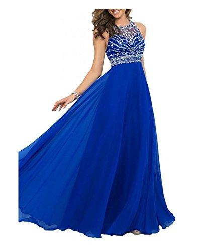 Vickyben Prom Dress Royal Blue Floor Length 2015