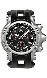 Oakley Men's Holeshot Unobtainium Stainless Steel Chronograph Tachymeter Watch - Black