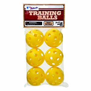 Buy Franklin Sports MLB Aero-Strike Training Baseball (Pack of 6), 9-Inch by MLB