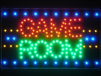 ADV PRO Led047 R Game Room LED Neon Light Sign Business