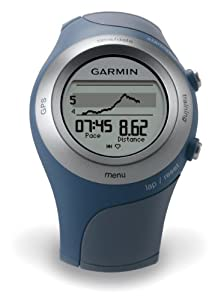 Buy Garmin Forerunner 405CX GPS Sport Watch with Heart Rate Monitor (Blue) by Garmin